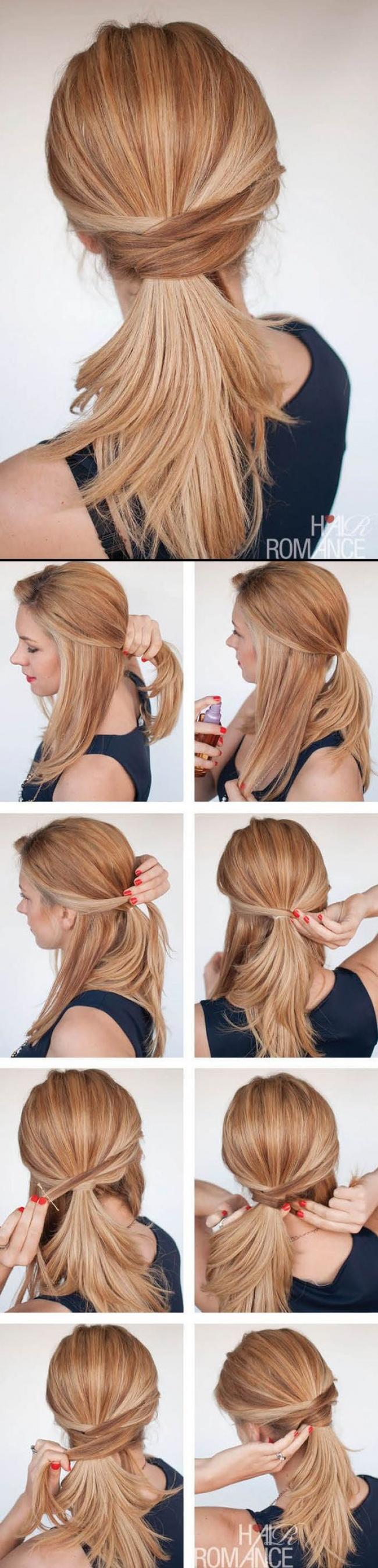 peinados que puedes hacer en casa en tiempo rcord con cul te quedas